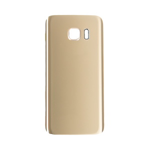 Back Glass Cover for use with Samsung Galaxy S7 (Gold Platinum)