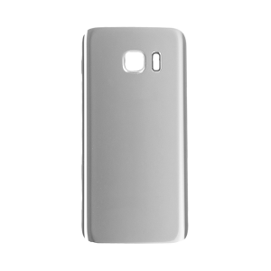 Back Glass Cover for use with Samsung Galaxy S7 (Silver Titanium)