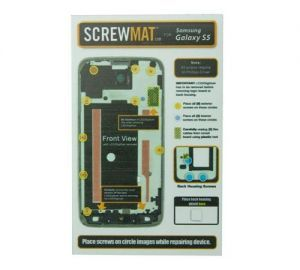 ScrewMat for use with Galaxy S5