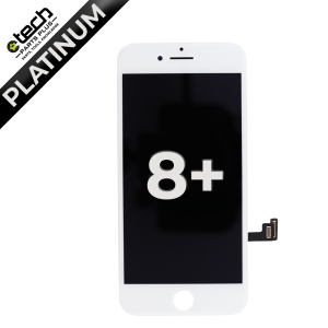 Platinum LCD Assembly for use with iPhone 8 Plus (White)