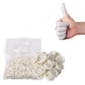 Anti-Static Rubber Finger Cots (Roughly 1000 pieces)