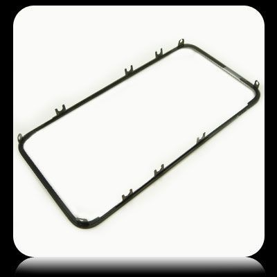 Front Frame for use with iPhone 4 (GSM), Black