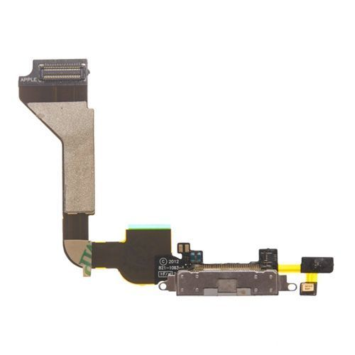 Docking Charging Port, Bottom Mic and Flex Cable, White, AT&T Only for use with iPhone 4