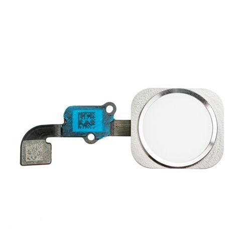 Home Button Flex Cable for use with the iPhone 6 Plus (5.5), Silver