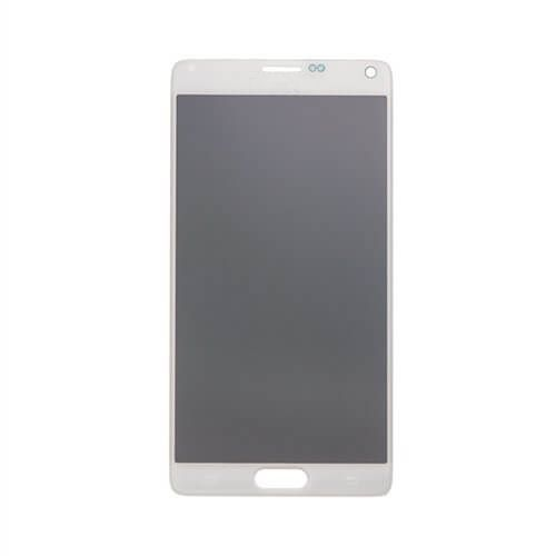 LCD & Digitizer Assembly for use with Samsung Galaxy Note 4 SM-N910, Frost White (no home button & flex)