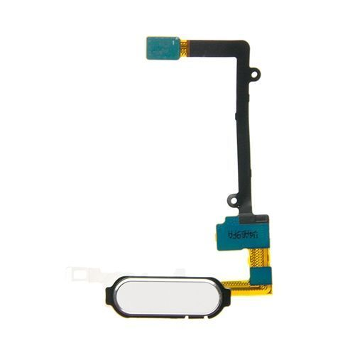 Home Button Flex Cable, White, for use with Samsung Galaxy Note 4 N910