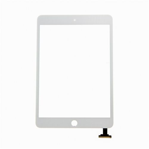 Glass and Digitizer Touch Panel Assembly for use with White iPad Mini 3 Only