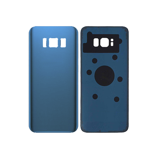 Back Glass Cover for use with Samsung Galaxy S8 (Coral Blue)