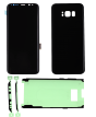 OLED Digitizer Assembly and Back Cover for use with Samsung Galaxy S8 (Midnight Black)