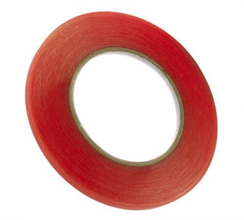 6mm (1/4) x 36yd Red Tape Adhesive