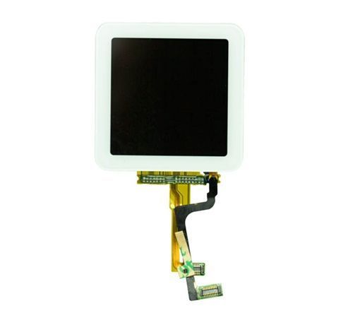 LCD Screen and Digitizer Assembly for use with iPod Nano Gen 6, White