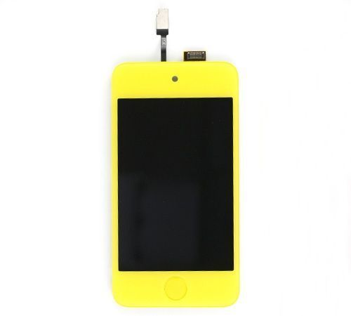 LCD, Digitizer Assembly, Yellow for use with iPod Touch Gen 4
