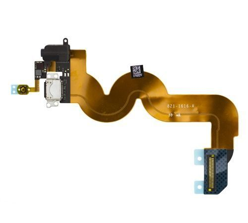 Home Button, Dock, and Headphone Jack Flex Cable for use with iPod Touch Gen 5, Black