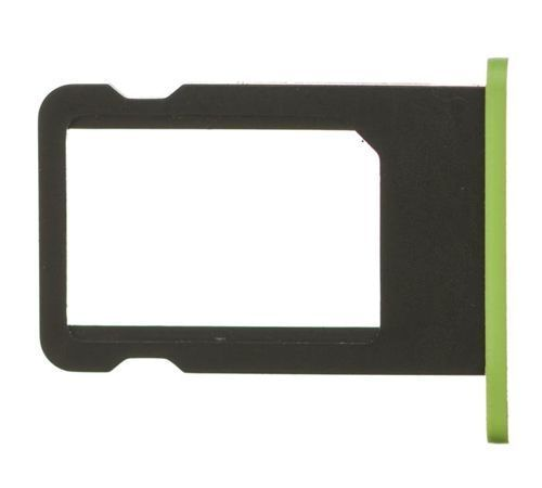 Sim Card Tray for use with iPhone 5C (Green)