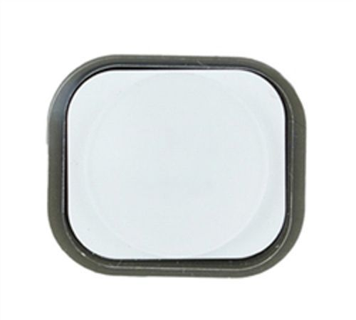 Home Button Assembly with Rubber Surround for use with iPhone 5, White