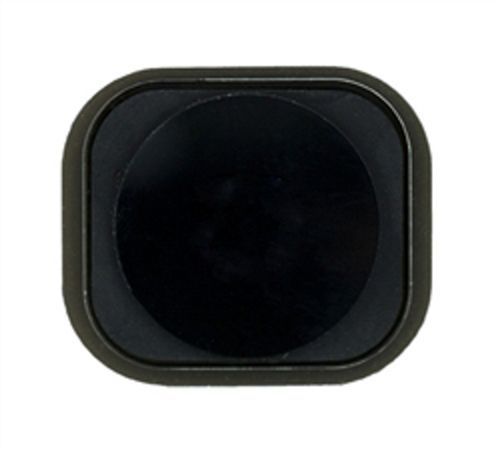 Home Button Assembly with Rubber Surround for use with iPhone 5, Black