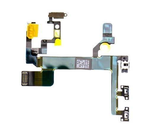 Power, Mute Switch and Volume Flex Cable for use with the iPhone 5S