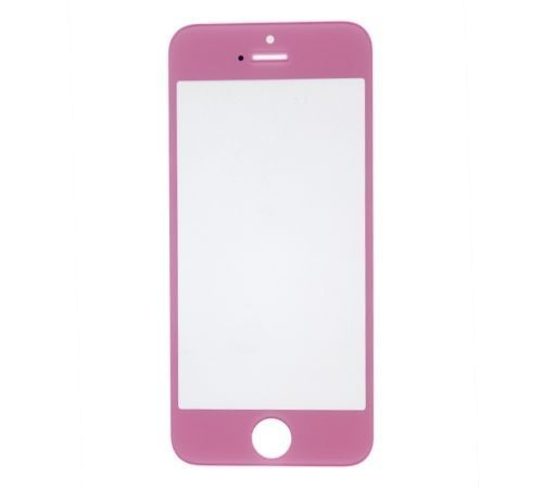 Pink Replacement Glass for use with iPhone 5