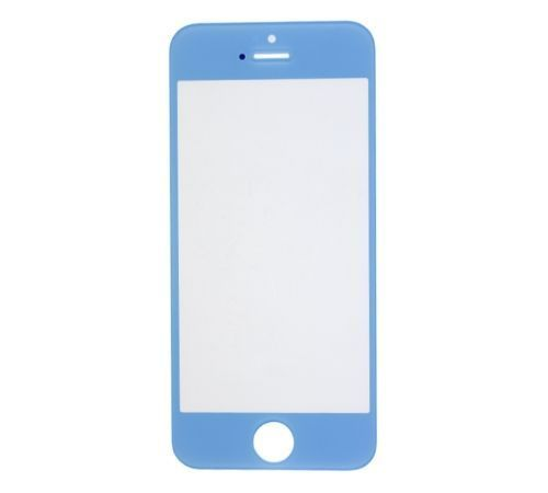 Light Blue Replacement Glass for use with iPhone 5