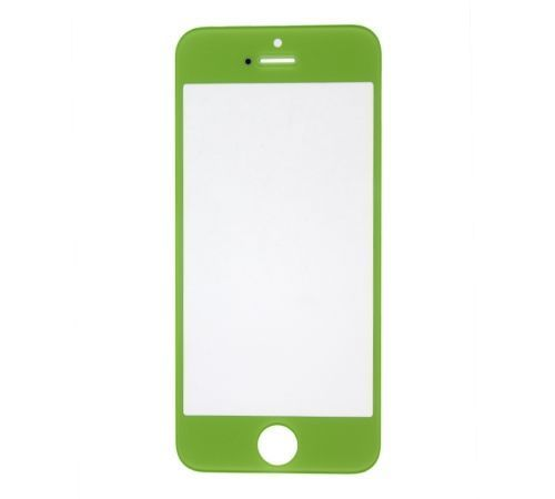 Green Replacement Glass for use with iPhone 5