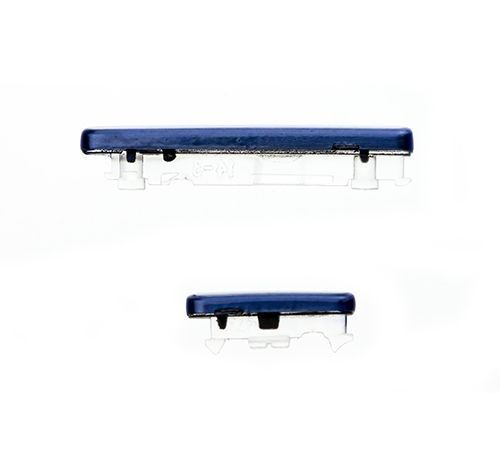 Power/Mute and Volume Buttons for use with Samsung Galaxy S III S3 Universal i9300 Blue