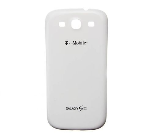 Battery Cover for use with Samsung Galaxy S III (S3) White T-Mobile T999