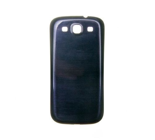 Battery Cover for use with Samsung Galaxy S III (S3) Blue/Black T-Mobile t999