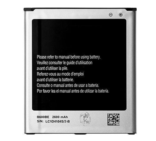 Battery for use with Samsung Galaxy S4 Universal i9500