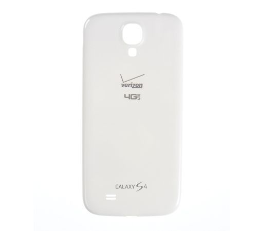 Battery Cover for use with Samsung Galaxy S4 White Verizon i545