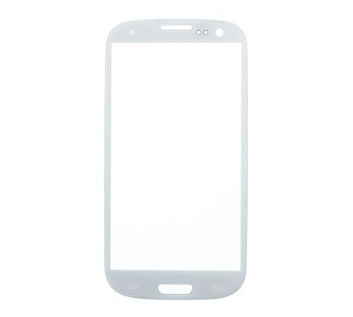 Glass only for use with Samsung Galaxy S3 White (No Logo)
