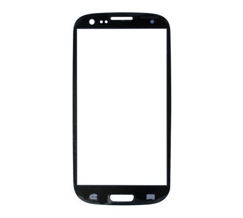 Glass only for use with Samsung Galaxy S3 Pebble Blue (No Logo)