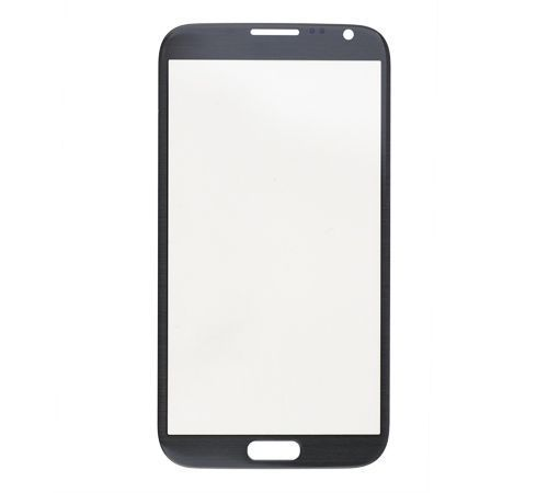 Glass only for use with Samsung Note 2 Black