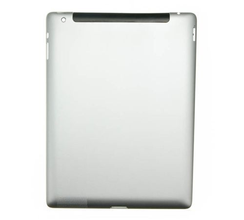 Aluminum Back Casing for use with iPad 3 4G GSM Version, Blank