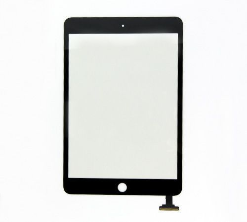 Glass and Digitizer Touch Panel Assembly for use with Black iPad Mini 3 Only