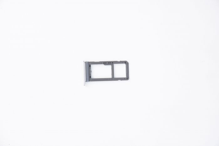 Sim Card Tray for use with Samsung Galaxy S8 (Arctic Silver)