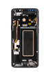 OLED Digitizer Assembly for use with Samsung S9 (With Frame) (Midnight Black)