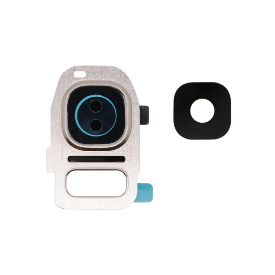 Back Camera Lens with Holder for use with Samsung Galaxy S6 (Gold Platinum)