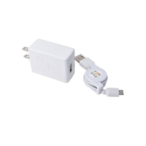 3ft USB-Micro Cable (White Color)