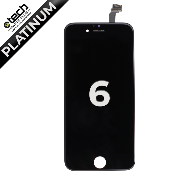 Platinum LCD Assembly for use with iPhone 6 (Black)