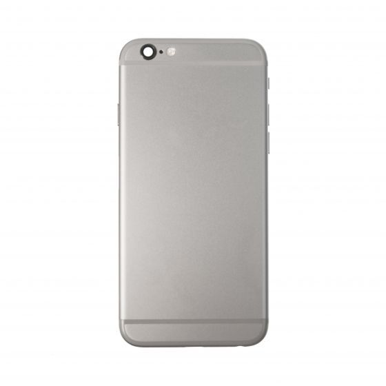 """Back Housing for use with iPhone 6S (4.7""""), With Small Parts, Space Gray"""