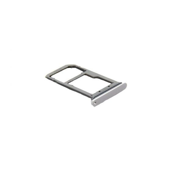 SIM Card Tray for use with Samsung S7 Edge (White)