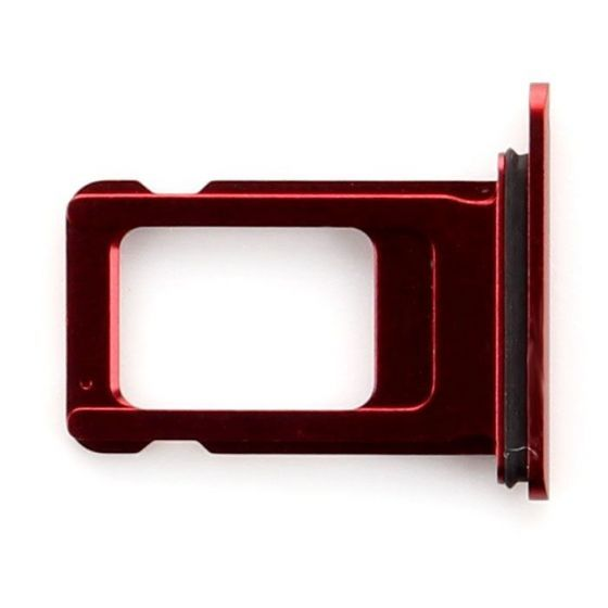 Sim Card Tray for use with iPhone XR (Red)