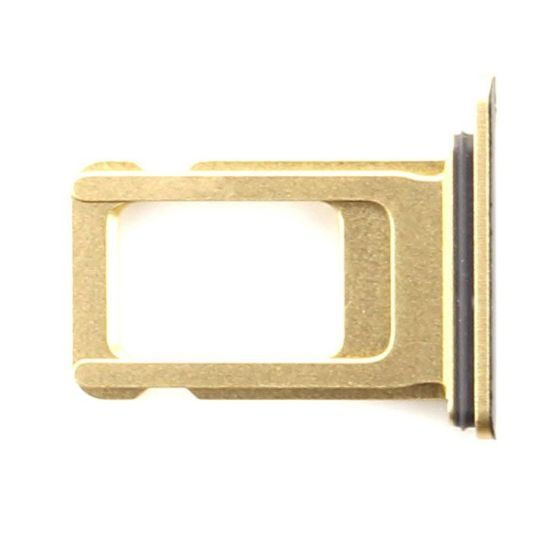 Sim Card Tray for use with iPhone XR (Yellow)