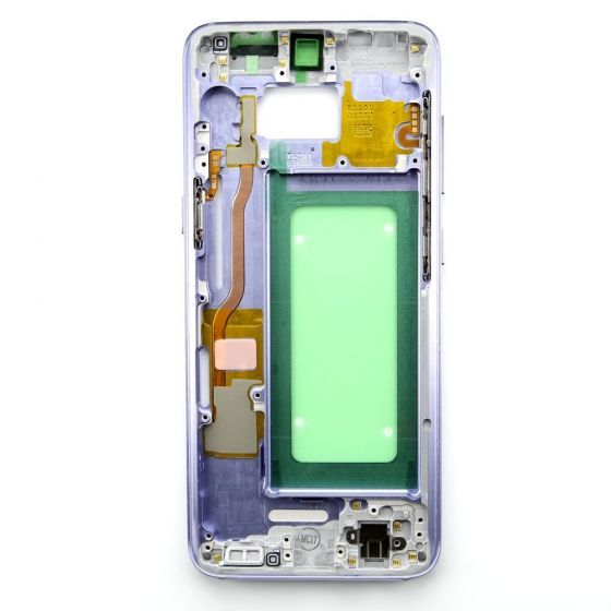 Middle frame for use with Samsung Galaxy S8 (Purple)
