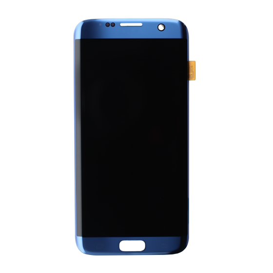 OLED Digitizer Assembly for use with Samsung Galaxy S7 Edge (Coral Blue)