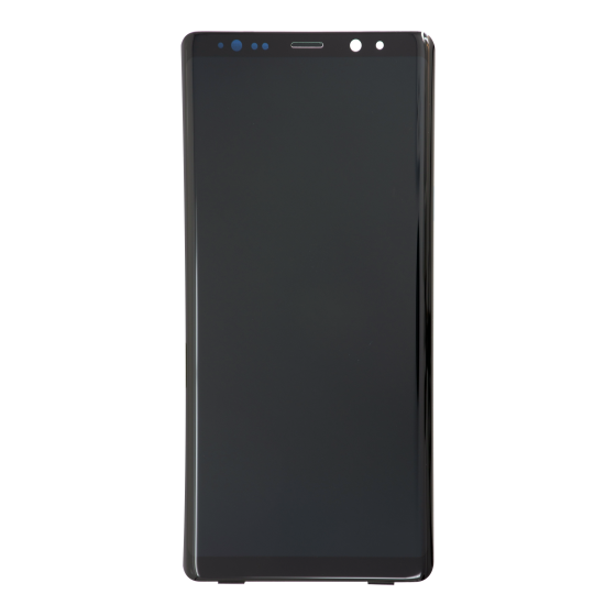 OLED/Digitizer with frame for use with Samsung Galaxy Note 8 - Orchid Grey