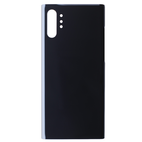 Back Glass for use with Samsung Galaxy Note 10 Plus (Black)