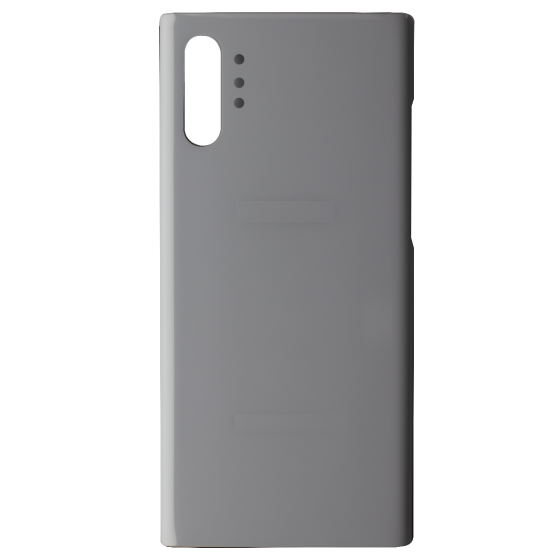 Back Glass for use with Samsung Galaxy Note 10 Plus (White)