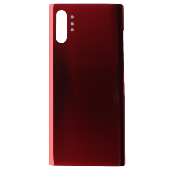 Back Glass for use with Samsung Galaxy Note 10 Plus (Red)