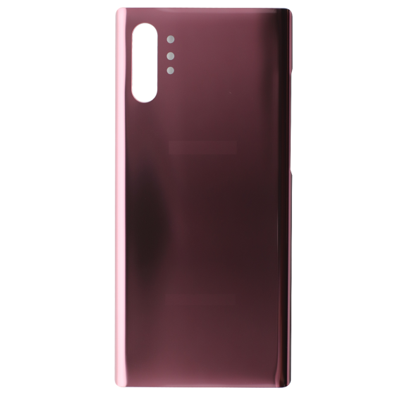 Back Glass for use with Samsung Galaxy Note 10 Plus (Pink)